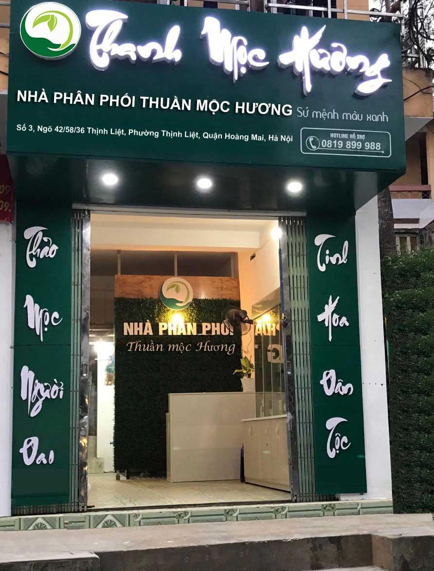 Điểm bán Thuần Mộc Thanh Mộc Hương tại Nam Định